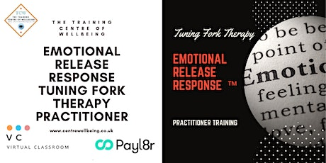 Emotional Release Response ™ Tuning Fork Practitioner tickets