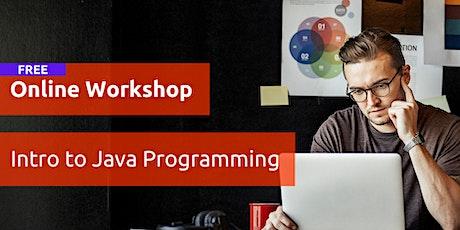 Online Workshop   Intro to Java Programming tickets