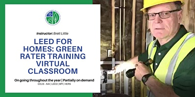 LEED for Homes Virtual Green Rater Credentialing Training