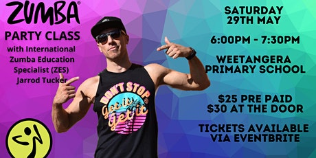 Zumba Party Class with Jarrod Tucker tickets
