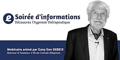 Devenir hypnothérapeute - Soirée d'information billets