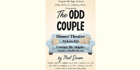 The Odd Couple Dinner Theatre tickets
