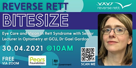 Bitesize: Eye Care and Vision in Rett Syndrome tickets