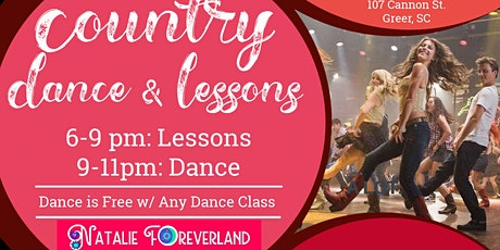 Country Dance Lessons & Dance tickets