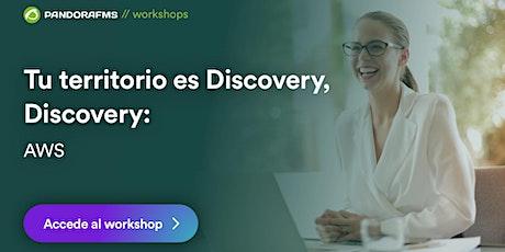 Tu territorio es Discovery, Discovery: AWS entradas