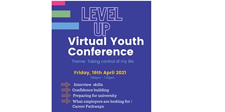 Level Up: Virtual Youth Conference tickets