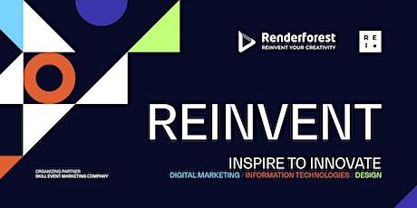 Reinvent by Renderforest 2021 tickets