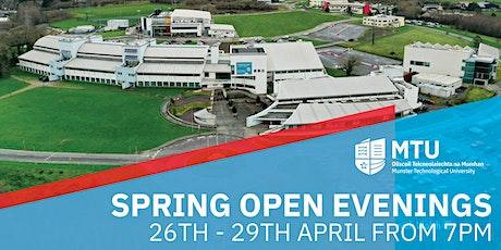 Spring Open Evenings tickets