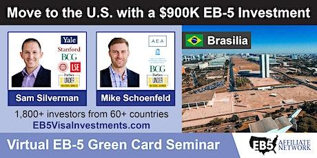 U.S. Green Card Virtual Seminar – Brasilia, Brazil ingressos