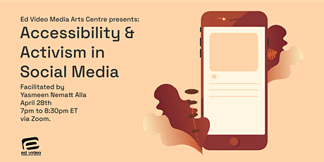 Accessibility & Activism in Social Media tickets
