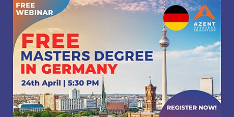 Free Masters Degree In Germany tickets