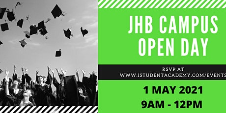 iStudent Academy JHB  May Open Day tickets