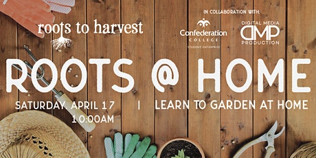 Roots @ Home - Starting an indoor edible planter tickets