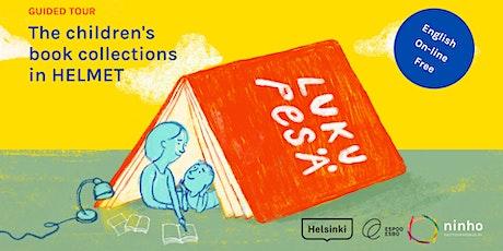 Guided Tour. Helmet's children literature collection. tickets