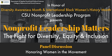 Nonprofit Leadership Matters: The Fight for Diversity, Equity & Inclusion tickets