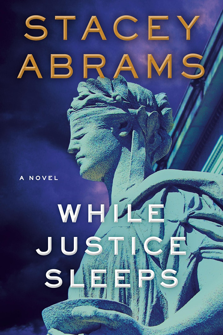B&N Virtually Presents: Stacey Abrams discusses WHILE JUSTICE SLEEPS image