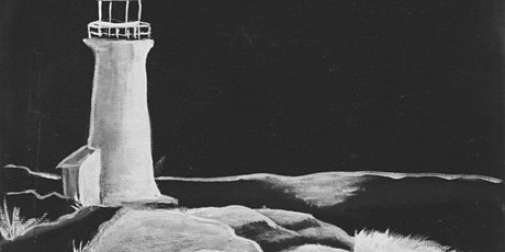 Art 101: Black & White Lighthouse Painting tickets