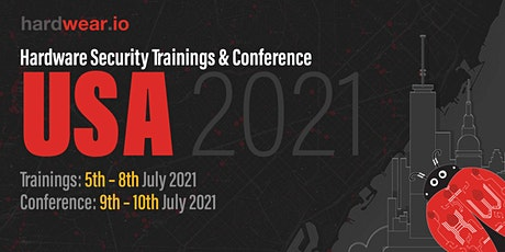 Hardwear.io - Hardware Security Conference and Training - USA 2021 (Online) tickets