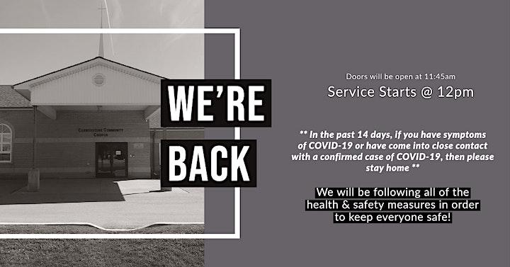 12PM Service @ Cornerstone Community Church image