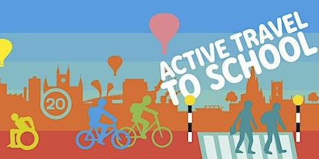 Active Travel Webinar Series - Behaviour Change and Curriculum Enrichment tickets