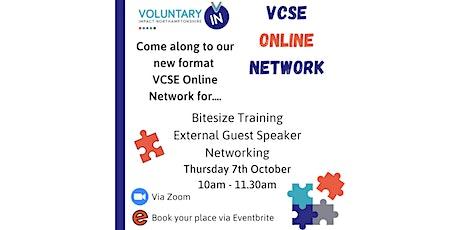 VCSE Online Network - Bitesize Training, Guest Speaker & Networking tickets