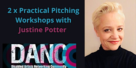 Two Practical Pitching Workshops with Justine Potter. tickets