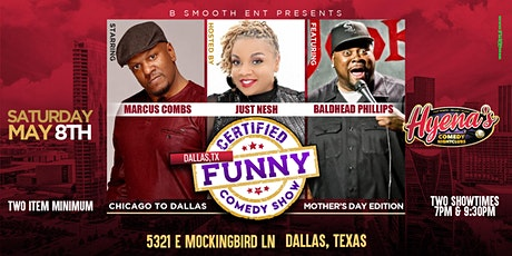 Dallas  Certified Funny Comedy Show Chicago to Dallas Mothers Day Edition tickets