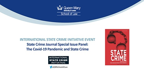 State Crime Journal Special Issue Panel: The Covid-19 Pandemic and... tickets