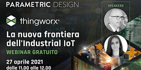 La nuova frontiera dell'Industrial IoT biglietti