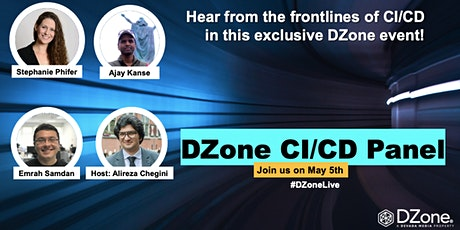 DZone CI/CD Panel entradas
