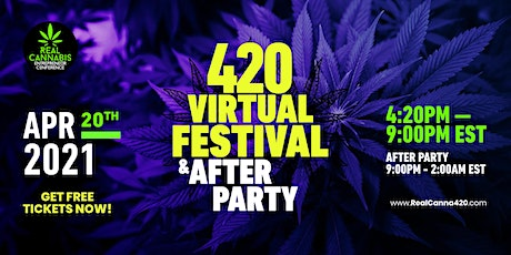 420 Virtual Festival & After Party NJ & NYC (Real Cannabis Entrepreneur) tickets