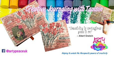 Creative Art Journaling with Tamsin tickets