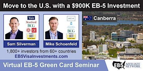 U.S. Green Card Virtual Seminar – Canberra, Australia tickets