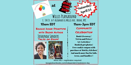 Boogie Down Storytime & Independent Bookstore Day Celebration (April 24) tickets