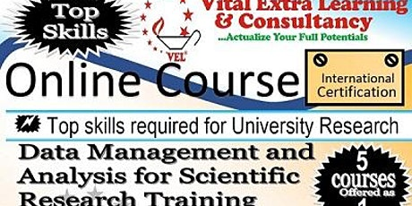 Data Management and Analysis for Scientific Research Training tickets