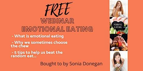 Emotional Eating  - Unlayered Webinar tickets