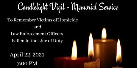 2021 Candle Light Vigil - Memorial Service tickets