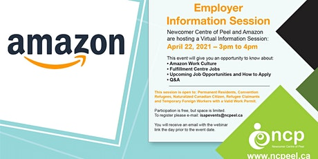 Amazon Information Session tickets