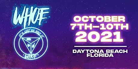WHOE Weekend Oct. 7th-10th, 2021 tickets
