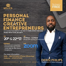 PERSONAL FINANCE FOR CREATIVE ENTREPRENEURS BY DERIN PHILLIPS tickets