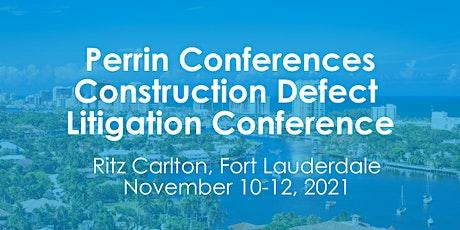Construction Defect Litigation Conference tickets