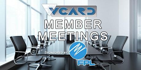 VCARD Member Meeting - April 2021 tickets