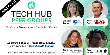 PEER GROUP GATHERING | Software & Tech Leaders + SIM South Florida tickets