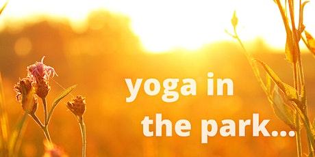 Outdoors yoga, Hackney Marshes tickets