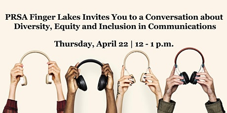 A Conversation about Diversity, Equity and Inclusion in Communications tickets