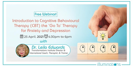 Introduction To Cognitive Behavioural Therapy For Anxiety And Depression tickets