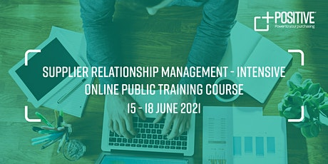 Online Supplier Relationship Management Training Course tickets