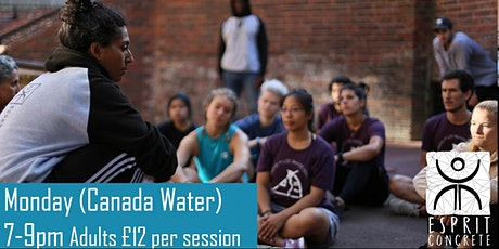 Esprit Concrete  - Outdoor Session (Canada Water) tickets