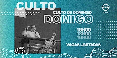 Culto Presencial de Domingo – 11/04 ingressos