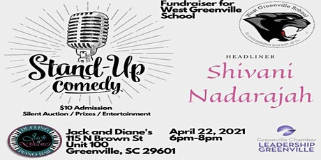 Stand Up Comedy Fundraiser for West Greenville School tickets
